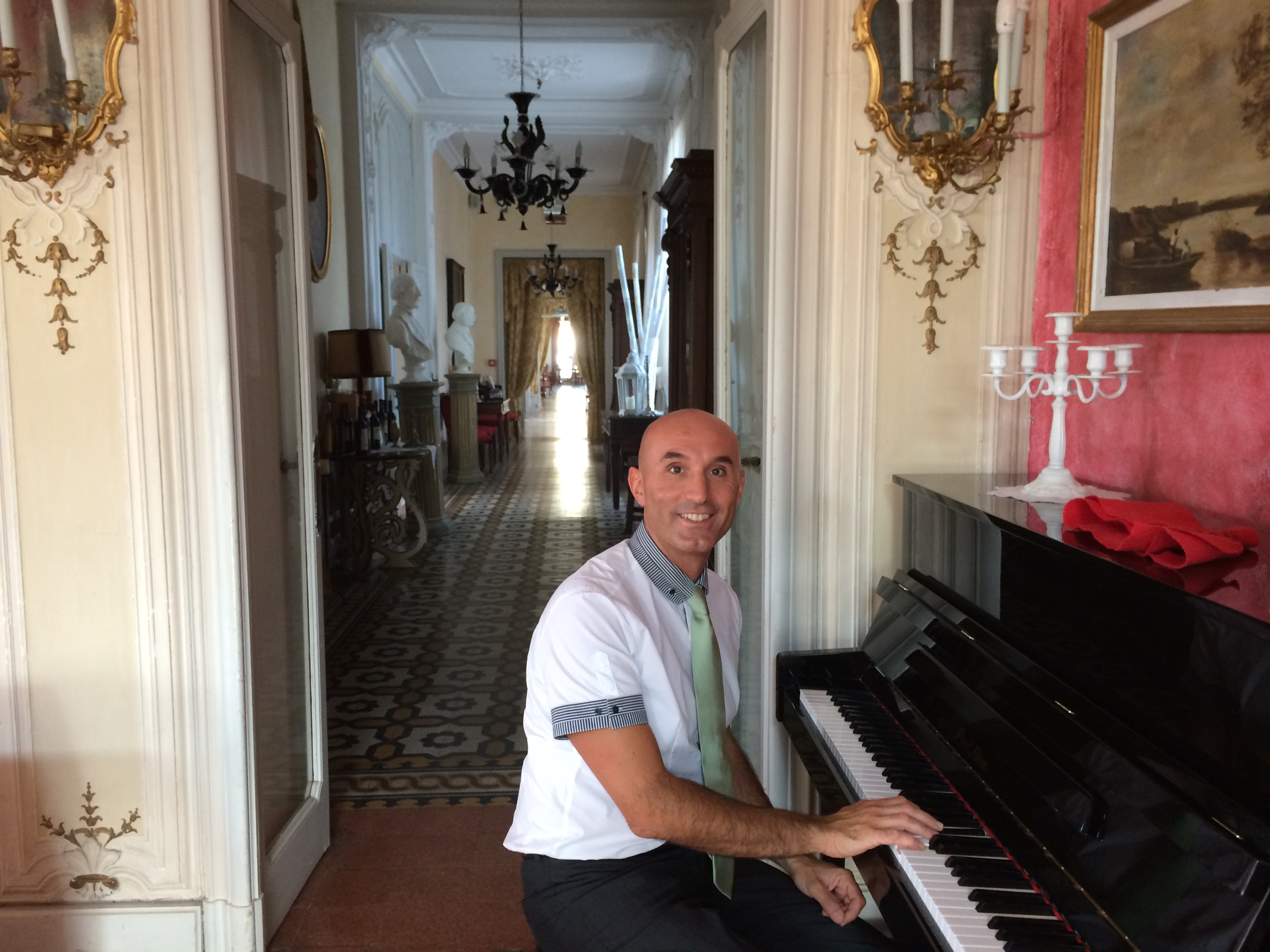THE PIANIST LIVE VILLA BORGHI