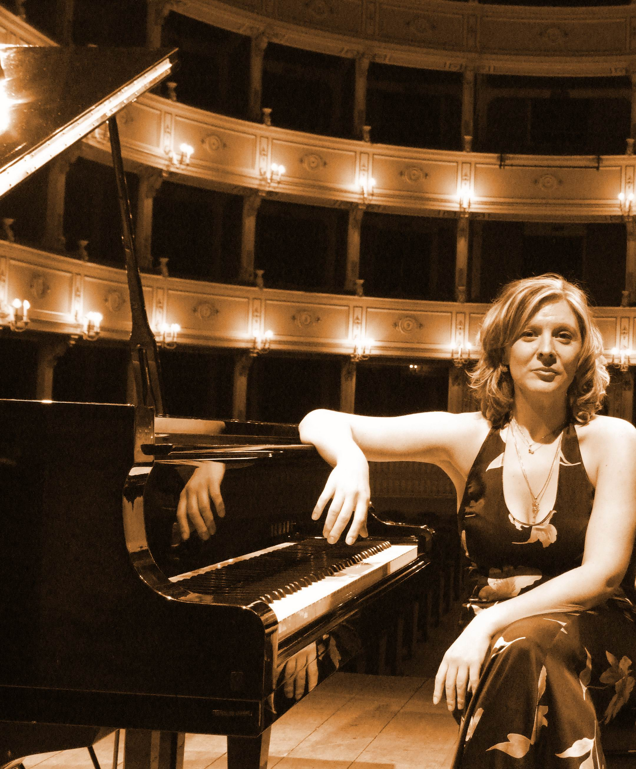Chiara evento top con The Pianist